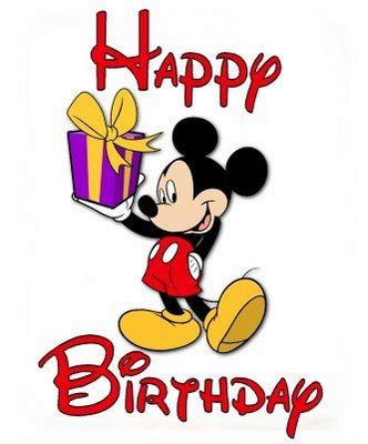 Mickey Mouse Printable Birthday Cards Happy Birthday Greeting Card Image Mickey Mouse Cartoon