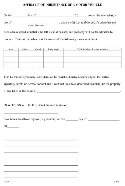 Download Arkansas Affidavit Form For Free Formtemplate Affidavit Of Forgery Template