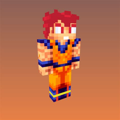 imagenes de goku en minecraft tutozzpatt skins para minecraft version 1 7 estilo