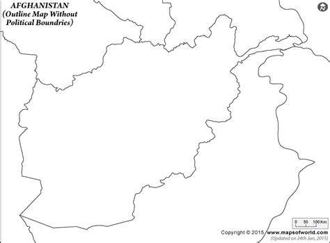 Afghanistan Pakistan Map Outline by Blank Map Of Afghanistan Afghanistan Outline Map