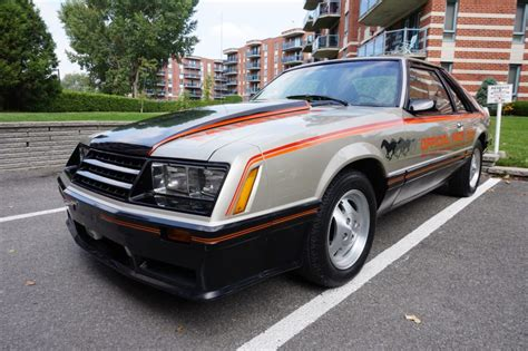reserve  ford mustang pace car edition  sale