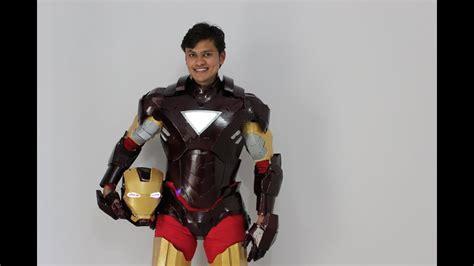 iron man suit mark mk eva foam youtube