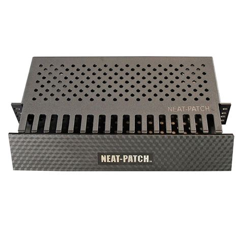 Patch Rack Cable Management by Neat Patch Cable Management Patch Panel Accessories