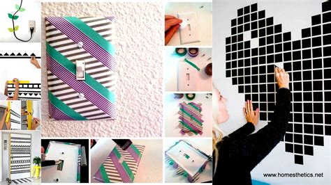 Easy Diy Bedroom 37 Diy Washi Tape Decorating Projects You Will Love