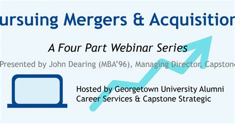 Georgetown Part Time Mba by Georgetown Successful Acquisitions
