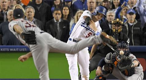 dodgers force world series game   astros  star