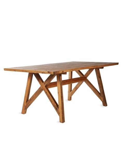 Tables Dining Room Like This Farm House Table Paired With A Modern Mix Of
