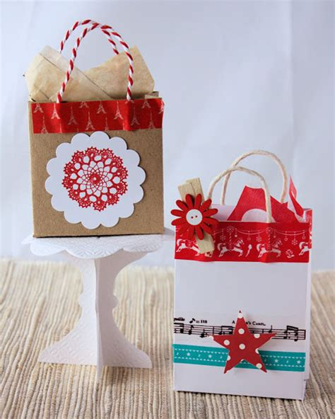 How To Make A Small Paper Gift Bag - unique diy bags your loved ones will opening