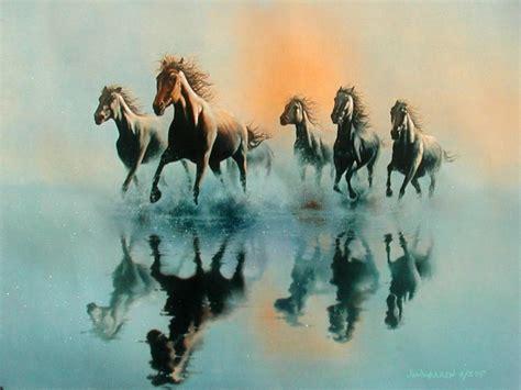 horse art wallpaper hd