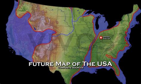 future map of america us navy map of future america future map of the united
