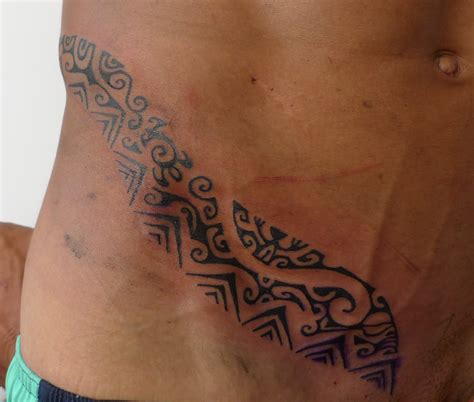 pelvic tattoos for men free tribal hip tattooed images