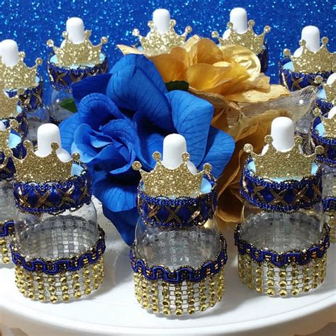 Royal Prince Themed Baby Shower Wholesale by 12 Royal Prince Baby Shower Favors Boys Royal Blue