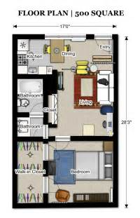 500 sq ft house floor plans 500 sq ft 352 3 pinterest apartment floor plans square feet and apartments