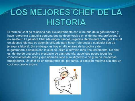 imagenes de chef inspiradoras diapositiva de chefs
