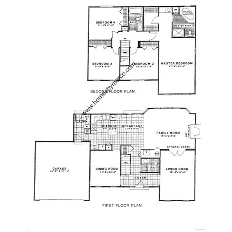 westport homes floor plans westport model in the pembrook subdivision in gurnee