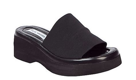 steve madden is now selling those stretchy black sandals you had in the 90s