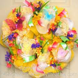 home decor wreaths deco mesh floral wreath artificialchristmaswreaths