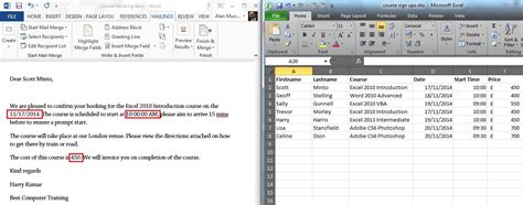 format excel spreadsheet for mail merge word mail merge from excel vba how to mail merge with