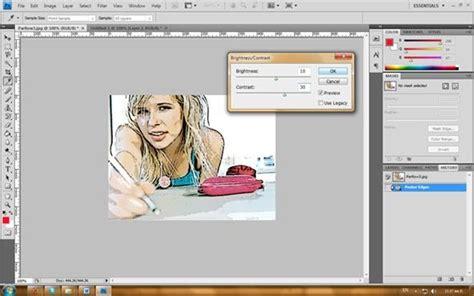 Ayo Membuat Dari Foto Foto Anda semua tentang desain grafis efek foto kartun dengan photoshop cs4