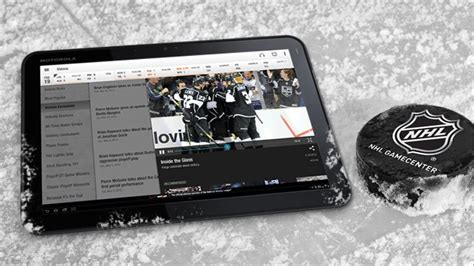 nhl gamecenter mod our hat trick of hockey apps androidpit