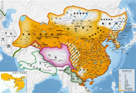 tang dynasty map how large was the tang dynasty at it s height in km 178
