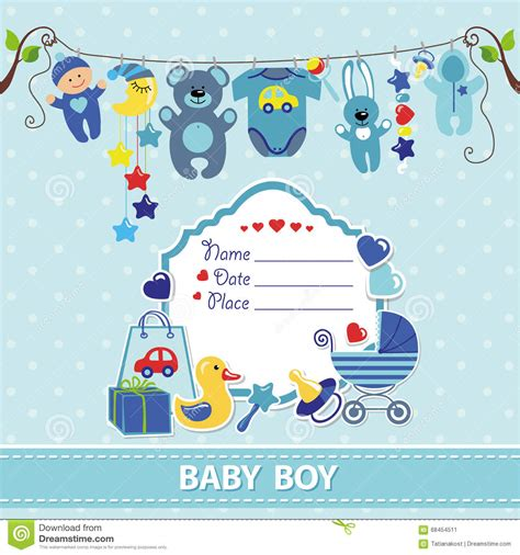 newborn baby card template baby boy shower templates invitations theruntime