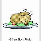 Cartoon Cooked Turkey | 179 x 194 jpeg 7kB