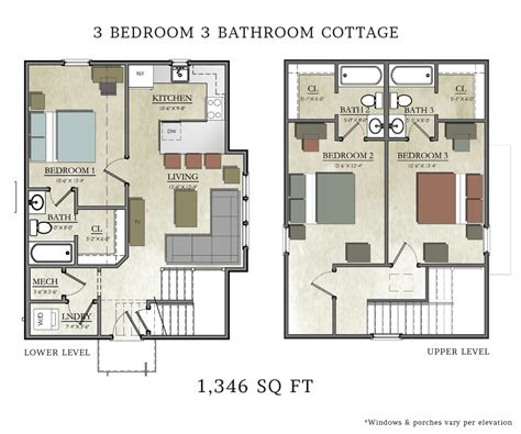3 bedroom cottage floor plans 3 bedroom cottage plans bedroom at real estate