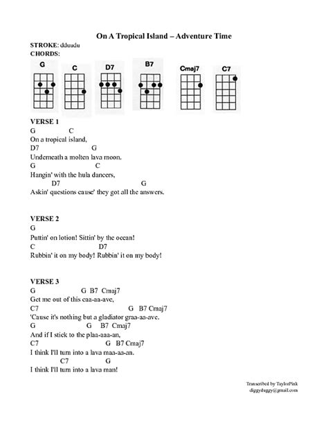 ukulele tutorial adventure time for the adventure time fans and beginners uke ists xpost