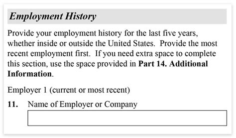 Does A Background Check Include Employment History How To Fill Out Form I 485 Step By Step