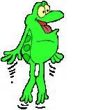 imagenes de ranas animadas navideñas dibujos animados de ranas gifs de ranas