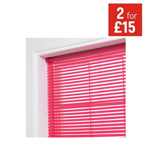 where to buy blinds buy colourmatch pvc venetian blind 3ft funky fuchsia at argos co uk your shop for