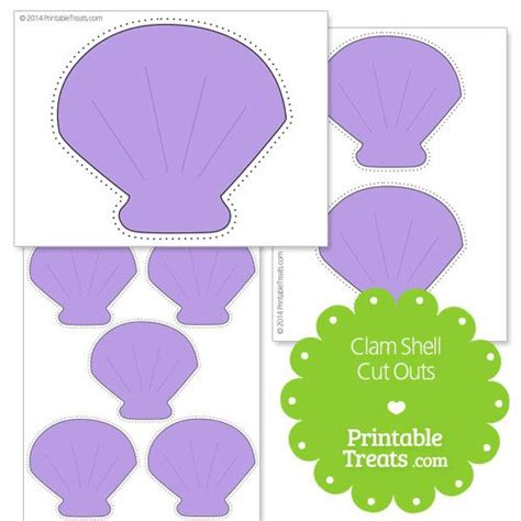 Clamshell Template Card by Best 25 Bridal Showers Ideas On