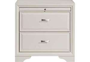 belcourt white nightstand nightstands colors