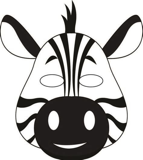 best 25 zebra mask ideas on pinterest craft letters