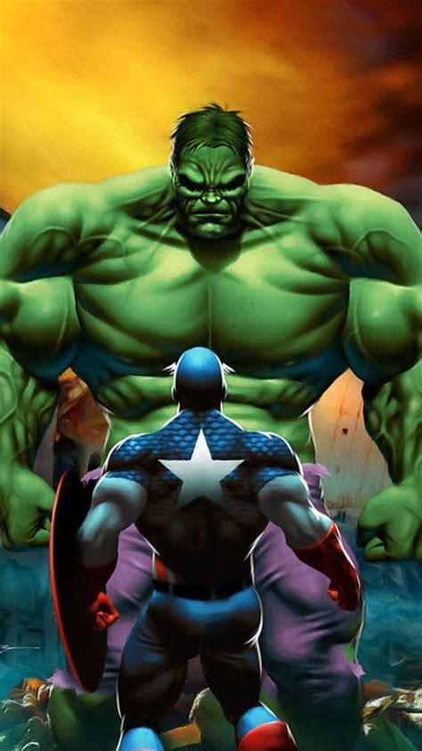 wallpaper hd iphone 6 hulk captain america vs the hulk wallpaper free iphone