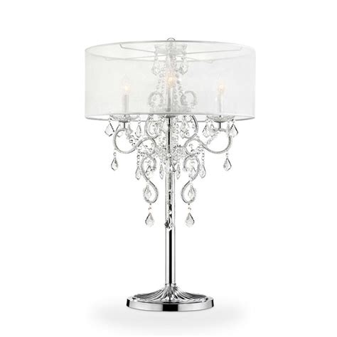 salt l bulbs lowes in evangelia chrome table l k t the home depot