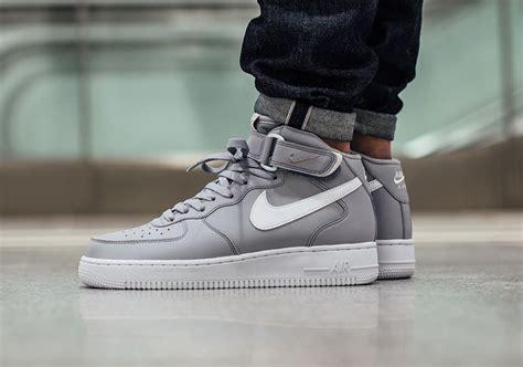 Original Bnib Nike Air 1 Mid Prm Leather Wool Wmn nike air 1 mid wolf grey sneaker bar detroit