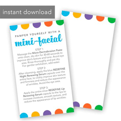 instant card downloads mini card rf dots instant itw visions