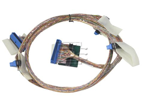 Dell Gh897 Sas Cable Assembly 1 Drop dell uj338 0uj338 scsi 68 pin hd68 u320 5 connector 4 device 1 5m 5ft terminator cable