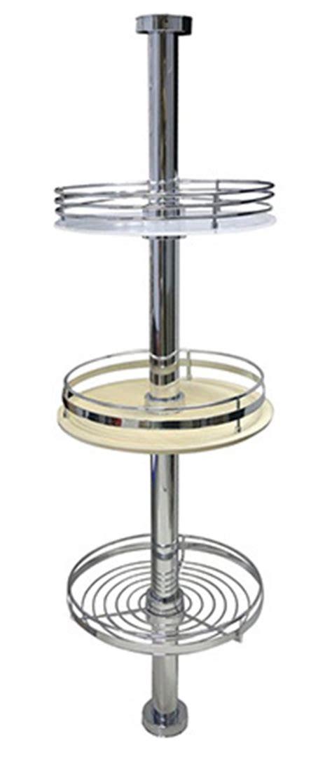 Pole Shelf System by Kyok Pole System Series Kitchen Revolving Shelf
