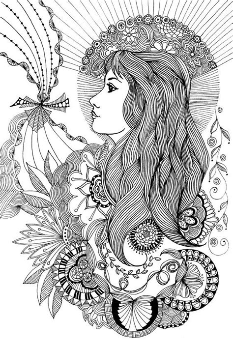doodle free hair 17 best images about my drawings on bacon
