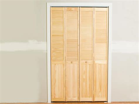 sliding folding closet doors install bifold closet doors how tos diy