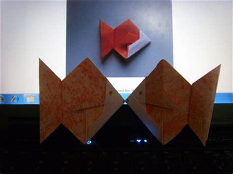 Origami Paper Edmonton - origami goldfish folding how to make