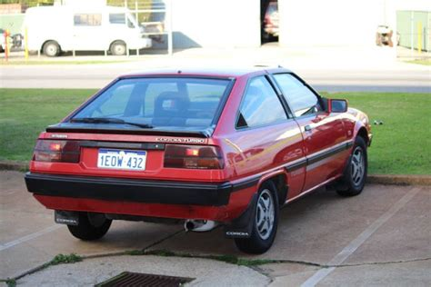 mitsubishi cordia gsr turbo 80shero red early cordia turbo