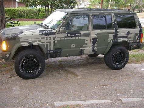 camo jeep grand cherokee digital camouflage rig yotatech forums