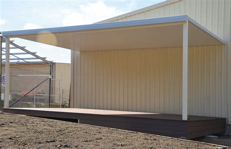Flat Shed by Sol Home Improvements Flat Roof Pergola Carport Gallery