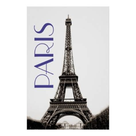 Eiffel Tower Poster vintage posters vintage eiffel tower travel poster