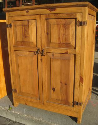 Pine Tv Armoire by Uhuru Furniture Collectibles Sold Pine Tv Armoire 95