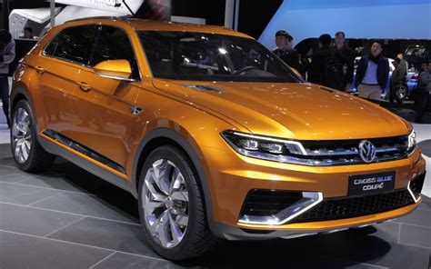 volkswagen crossblue coupe volkswagen crossblue coupe concept right front angle photo 10